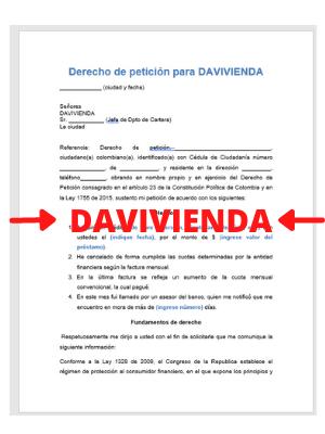 Derecho-de-peticion-para-davivienda