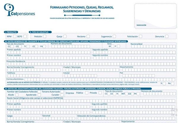Formulario-Peticiones-Quejas-Reclamos-Sugerencias-y-denuncias-en-colpensiones