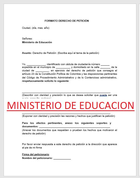 Modelo-de-derecho-de-petición-para-ministerio-de-educación