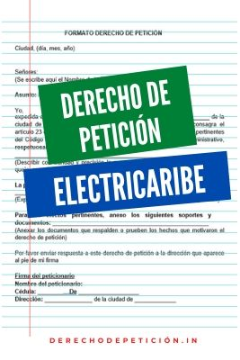 derecho-de-petición-a-electricaribe