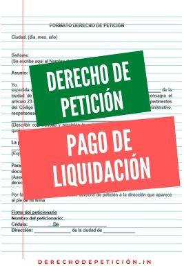 derecho-de-petición-pago-de-liquidación
