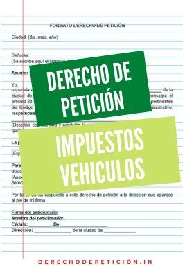 derecho-de-peticion-impuesto-vehiculos